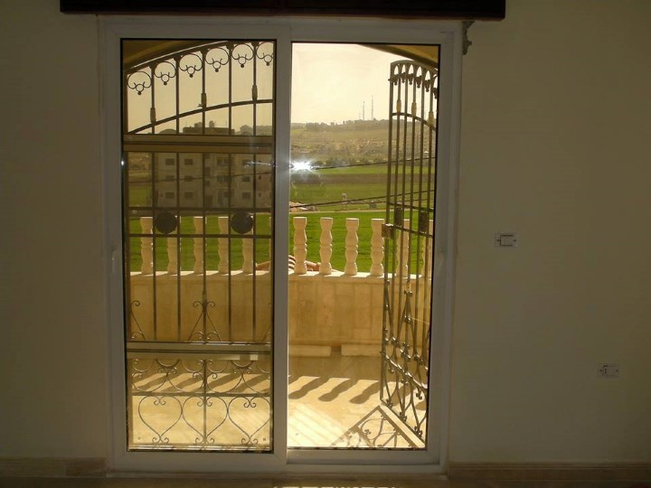 balcone upvc door