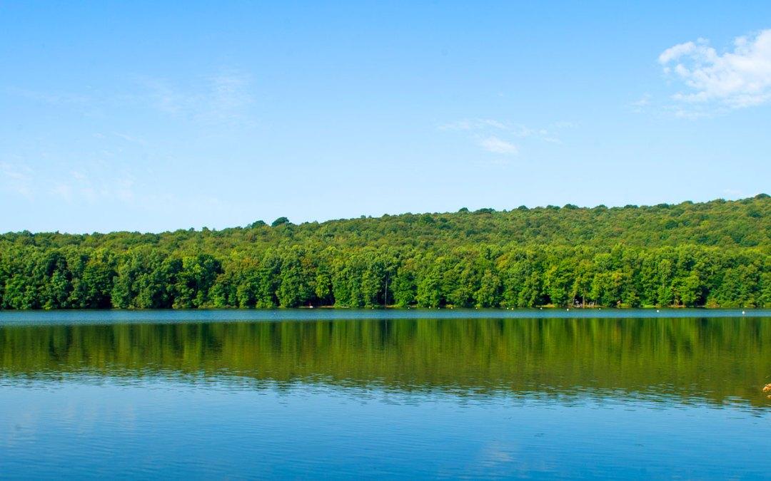 lac des vieilles forges Ardennes