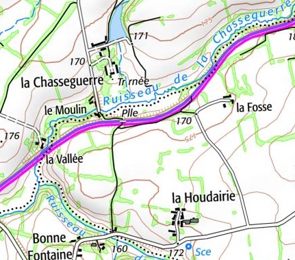 carte chasse guerre