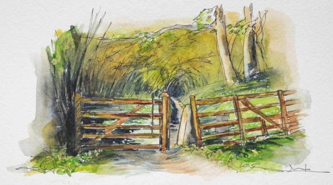Gateway into woodland