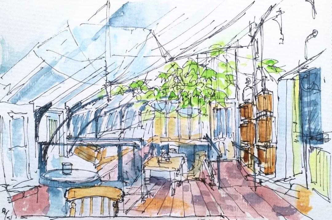 Walled Garden, Vine House Café