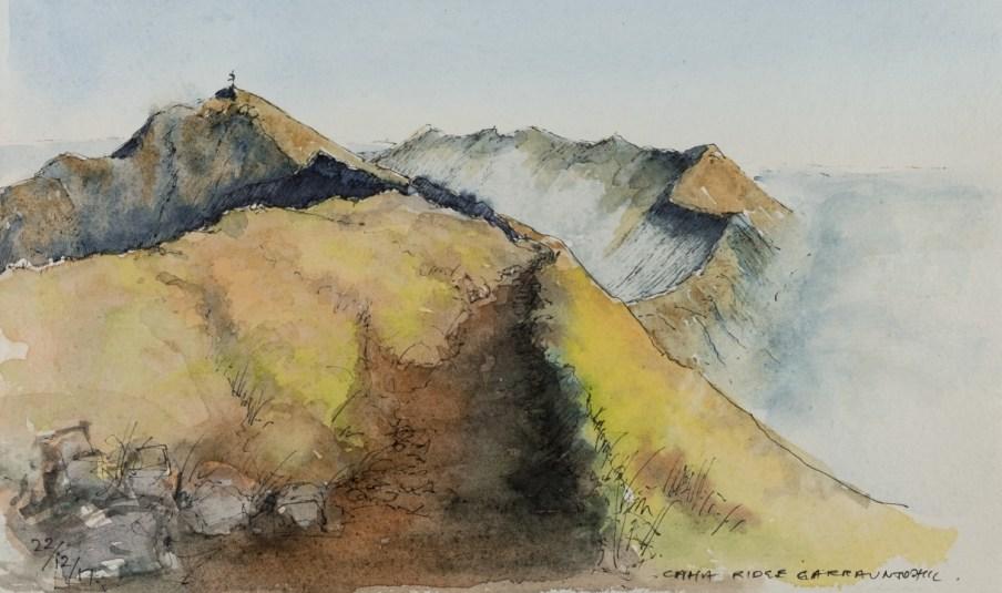 Caher Ridge, Carrauntoohil
