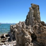 This like many tufas at South Tufa would have been submerged before water diversion began in 1941