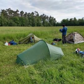 Hike/Bivak Antwerpse Kempen, België, 31 mei t/m 2 juni