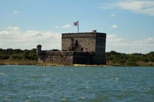 Fort Matanzas from the ferry