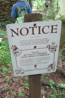Coontree loop-Antiquities notice