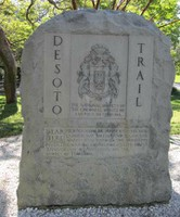 De Soto-Commemorative Stone