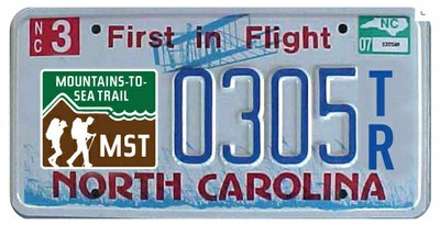 MST license plate announcement
