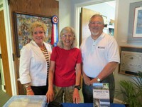 Kinston book event-Lucy, me and Brantley 2013