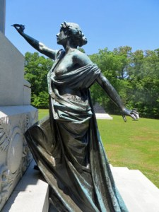 Lady on Iowa Memorial