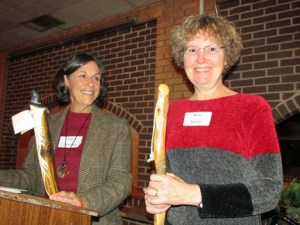 Marcia Bromberg and Becky Smucker