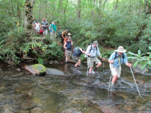 Crossing Caldwell Fork