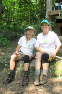 Pam and me - Smokies 100 completers