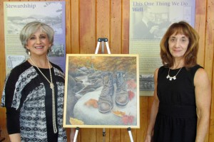 Libby Kephart Hargrave and Linda Kephart, painter