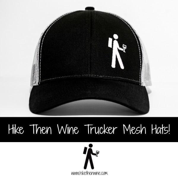 Hike Then Wine Hats
