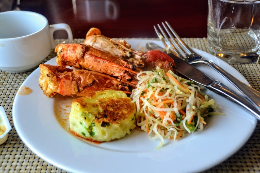 yummy food if you are a pescatarian in vietnam
