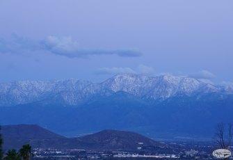 San Gabriel Mountains Sunrise Photos & Time-lapse , Feb 8 2016