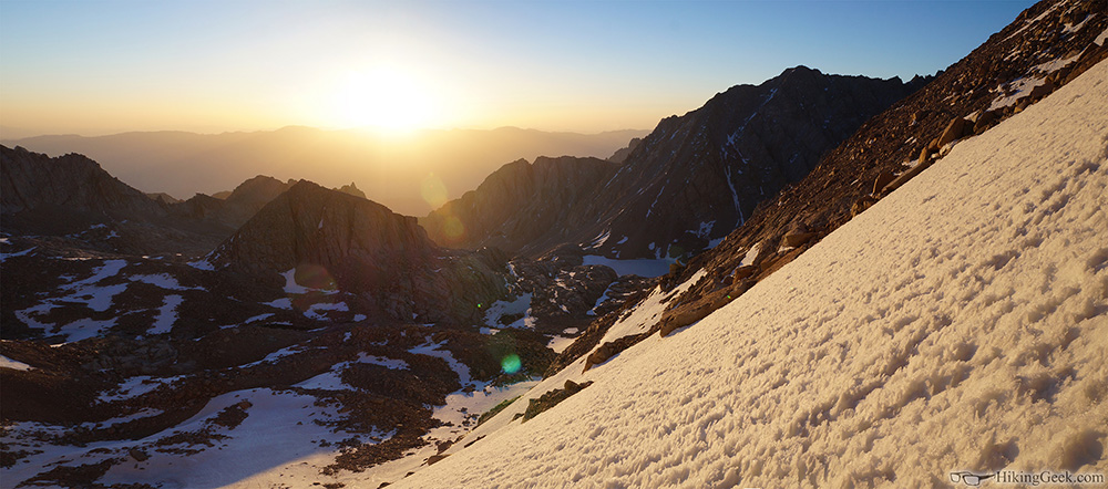 Mt. Whitney via 'The Chute' Trip Report,  June 4 2014