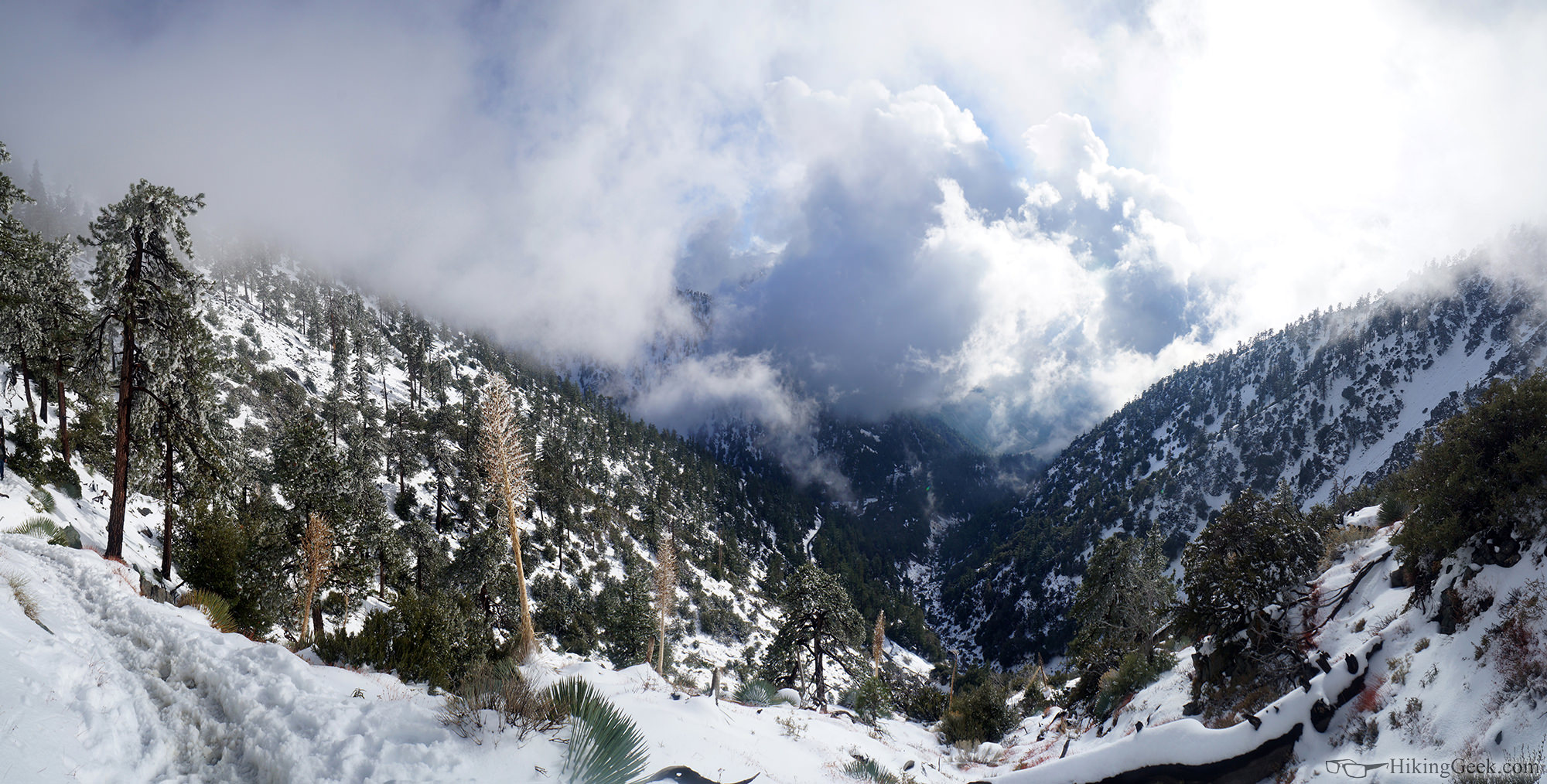 Ski Hut Trail (Mt. Baldy) Trip Report, Dec 13 2014