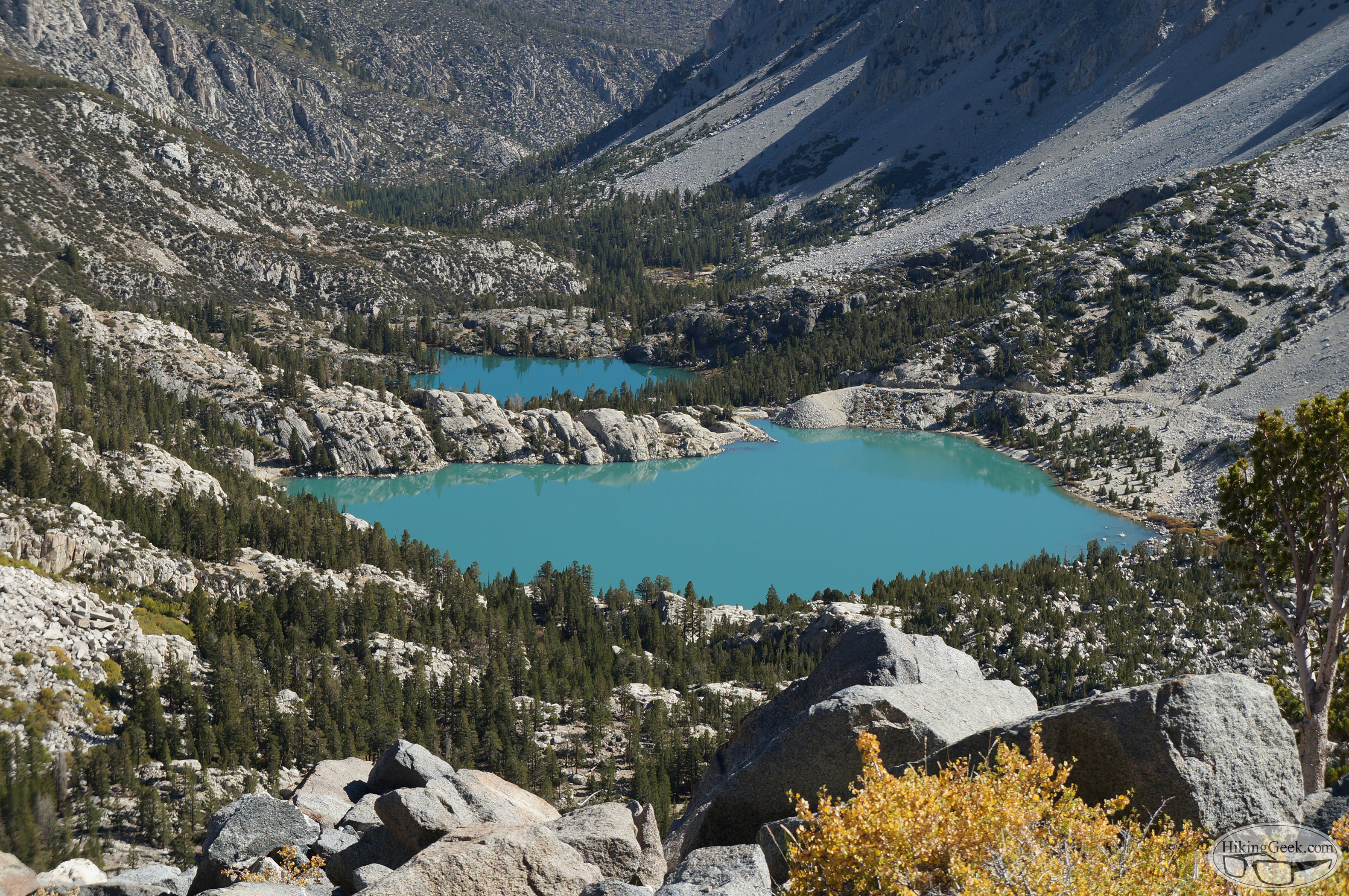 North Fork of Big Pine Creek: Lakes 1-3, Sam Mack Meadow & Beyond, October 3, 2015