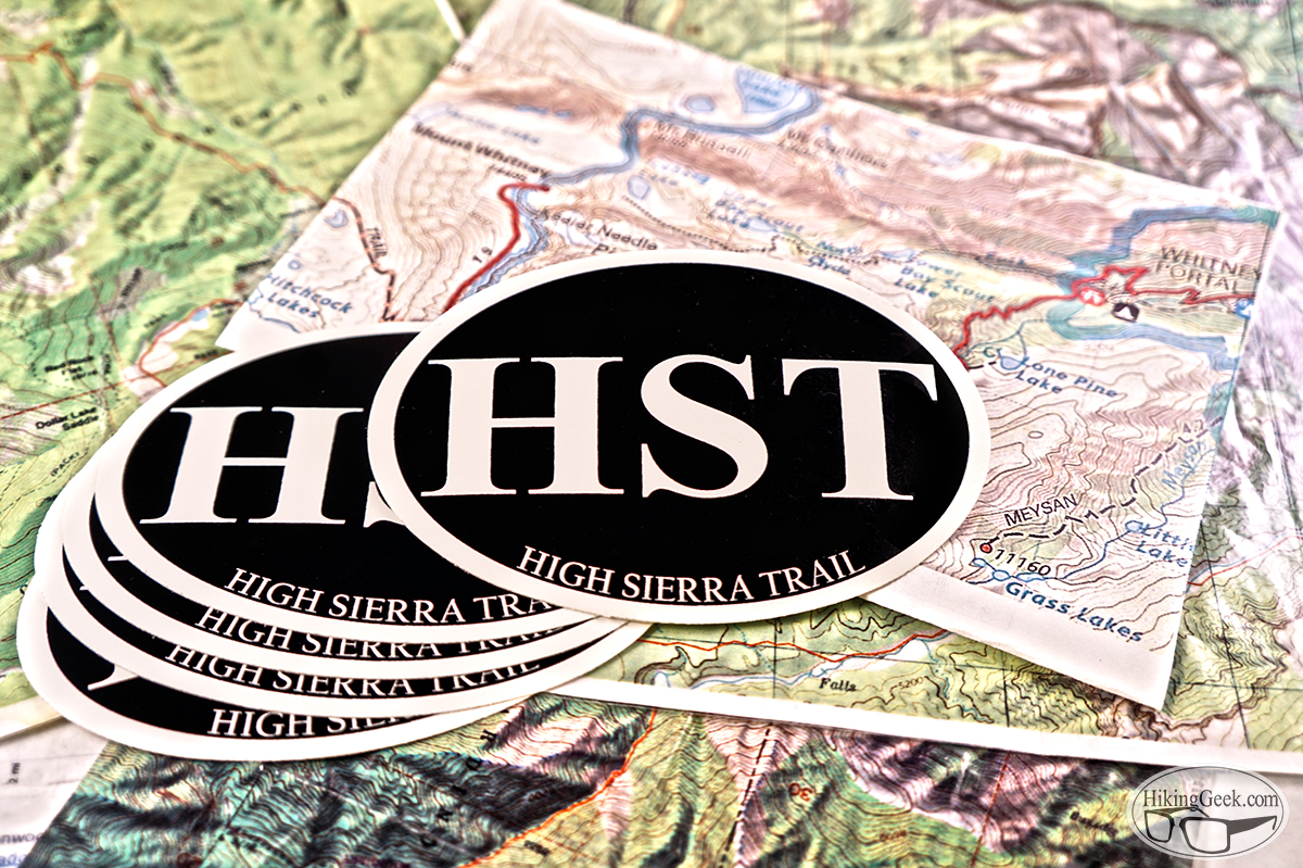 High Sierra Trail Sticker Raffle
