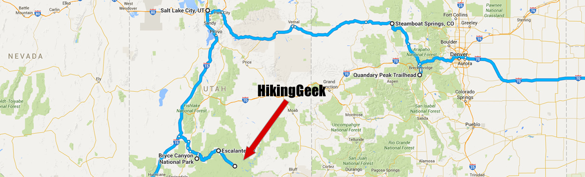 In Progress: Utah & Colorado Backpacking, Hiking and Snowshoeing – March 2016