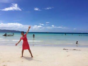 ボラカイ島 ホワイトビーチ