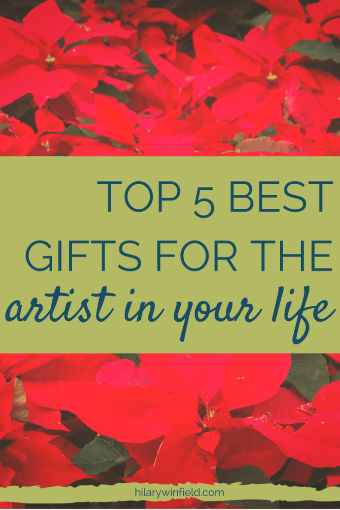 Struggling to find the perfect gift for the artist in your life? Look no further than these 5 amazing gifts in all price ranges. Click to find out more or pin for later.