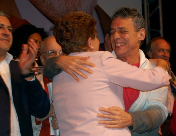 DSC 0127 Cultura em peso com Dilma no Teatro Oi Casa Grande