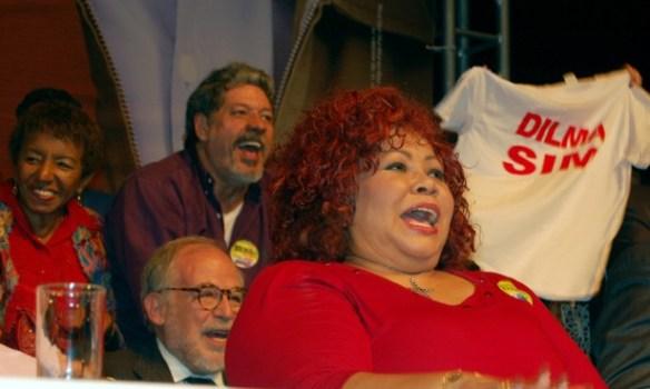 DSC 0236 Cultura em peso com Dilma no Teatro Oi Casa Grande