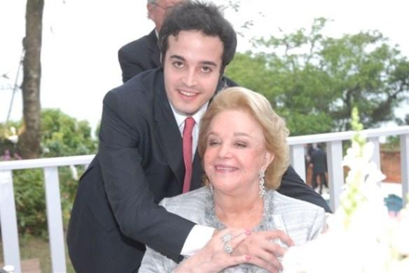 Rafael com a avó Sonny Vianna Casamento Ana Carolina e Thomaz Malan – parte 2
