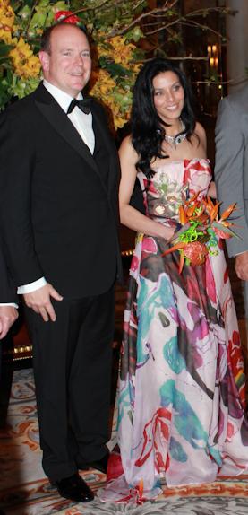 Monaco-Principe Albert e a linda brasileira Luciana de Montiguy