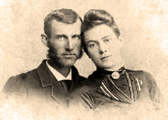 Horace William and Martha Lee (LaMaster) Hill. Horace was the son of William L. Hill.