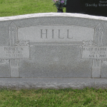 Horace William Hill Tombstone