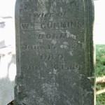 Mary Cummins Tombstone