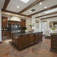 Old World Kitchen Million Dollar Home Beverly Hills Real Estate Hollywood Los Angeles