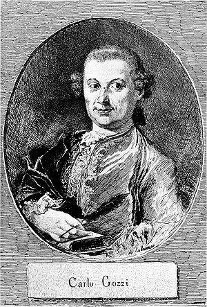 Portrait of Carlo Gozzi (1720-1806)