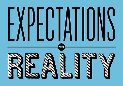 Expectations Reality photo