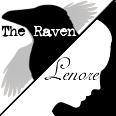 The Raven / Lenore by Hillary DePiano, based on / inspired by Edgar Allan Poe