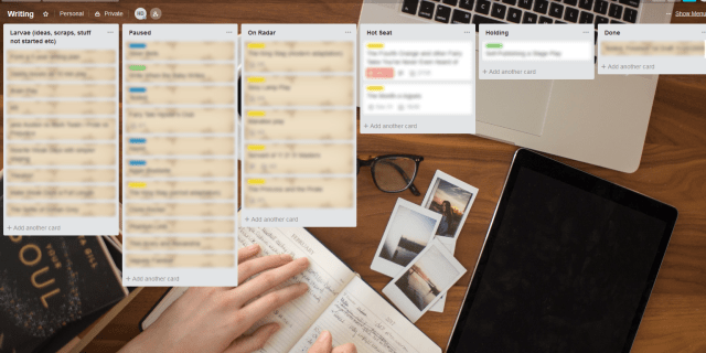 Kanban for writers: organize book releases, revisions & more with project management boards