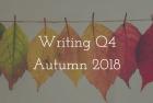 Q4 Autumn 2018: NaNoWriMo Takeover!