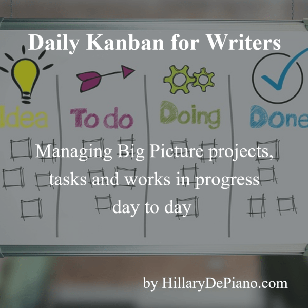 Daily Kanban for Writers by Hillarydepiano.com