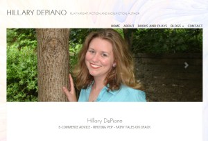site design screen shot