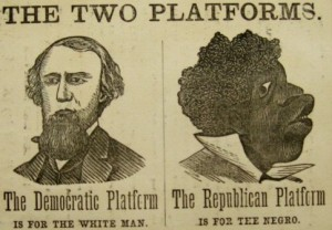 1876 POLITICAL POSTER
