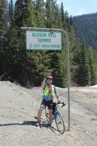 Just one of 3 summits