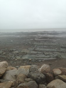 A stormy day on the St. Lawrence