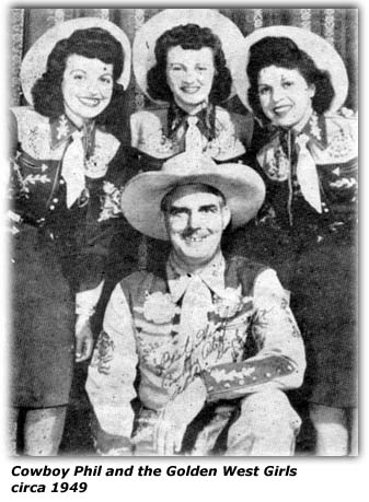 Image result for Cowboy Phil & The Golden West Girls