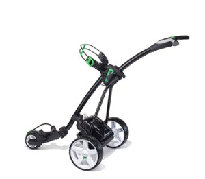 Black with Green Trim and Standard lithium battery