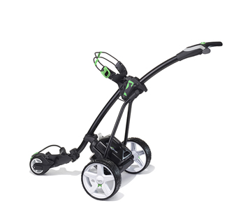 Black with Green Trim Lithium Battery