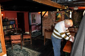 Clive Stockton landlord of the Hill House Inn Happisburgh
